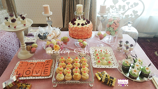 Сватбен сладък бар 545