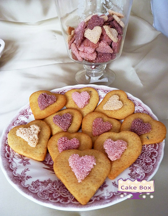 Vanilla hearts